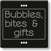 logo Bubbles bites and gifts